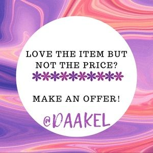 Like your favorite items and make an offer🔥